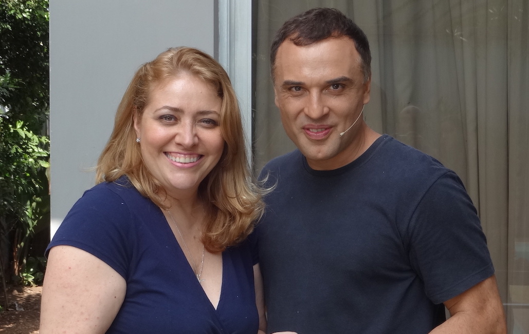 Susana München e Maurício Romeiro