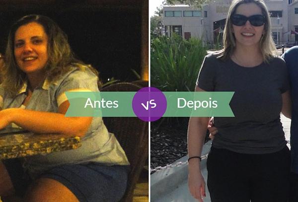 Cristina antes e depois