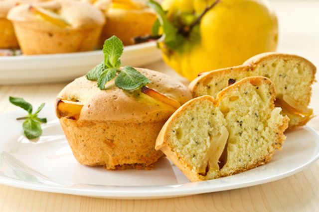 Muffins with quince