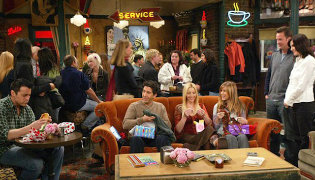 Friends e a famosa cafeteria Central Perk