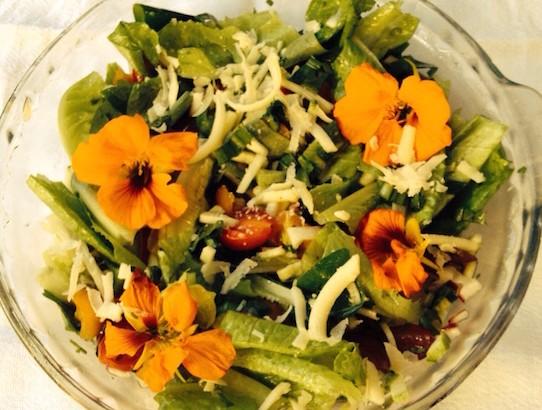 Salada de flores Roseli