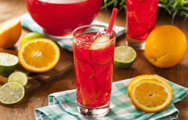 Refreshing Cold Fruit Punch