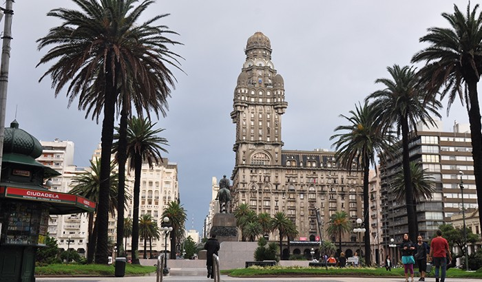 Plaza de La Independencia | Montevidéu | Foto: Zizo Asnis