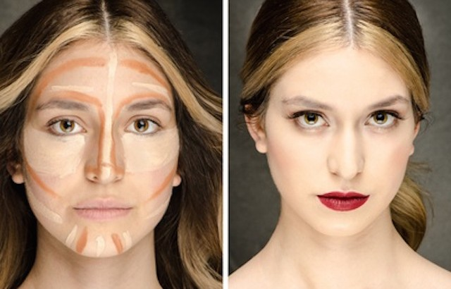The Secret  of Makeup  Before- After