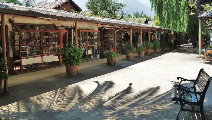 Local ideal para comprar artesanato em Santiago | Foto por Alberto beaudroit