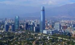 O prédio mais alto do Chile e da América do Sul | Foto por Gonzalo Baeza