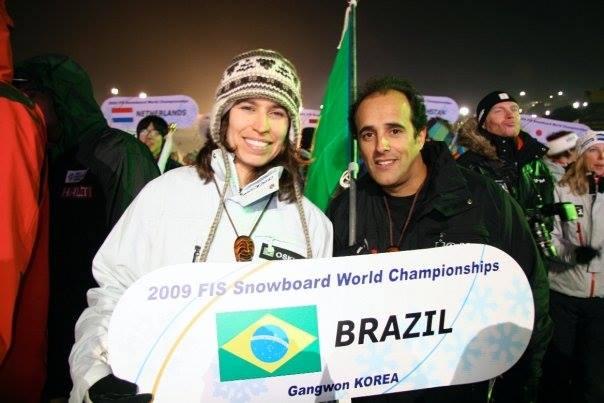 Isabel Clark e Dinho - Coreia 2009